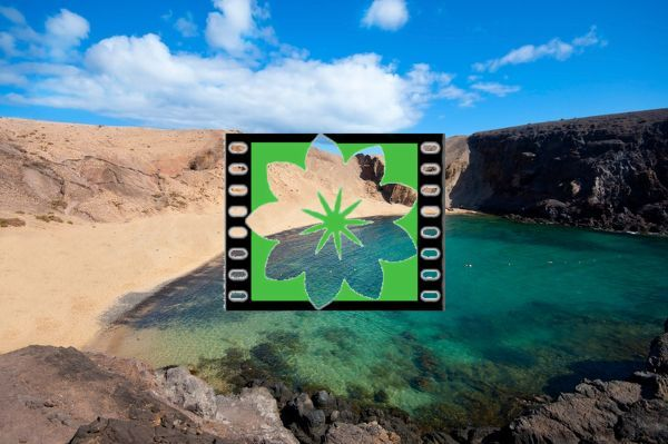 Papagayo Beach in Lanzarote, Canary Islands